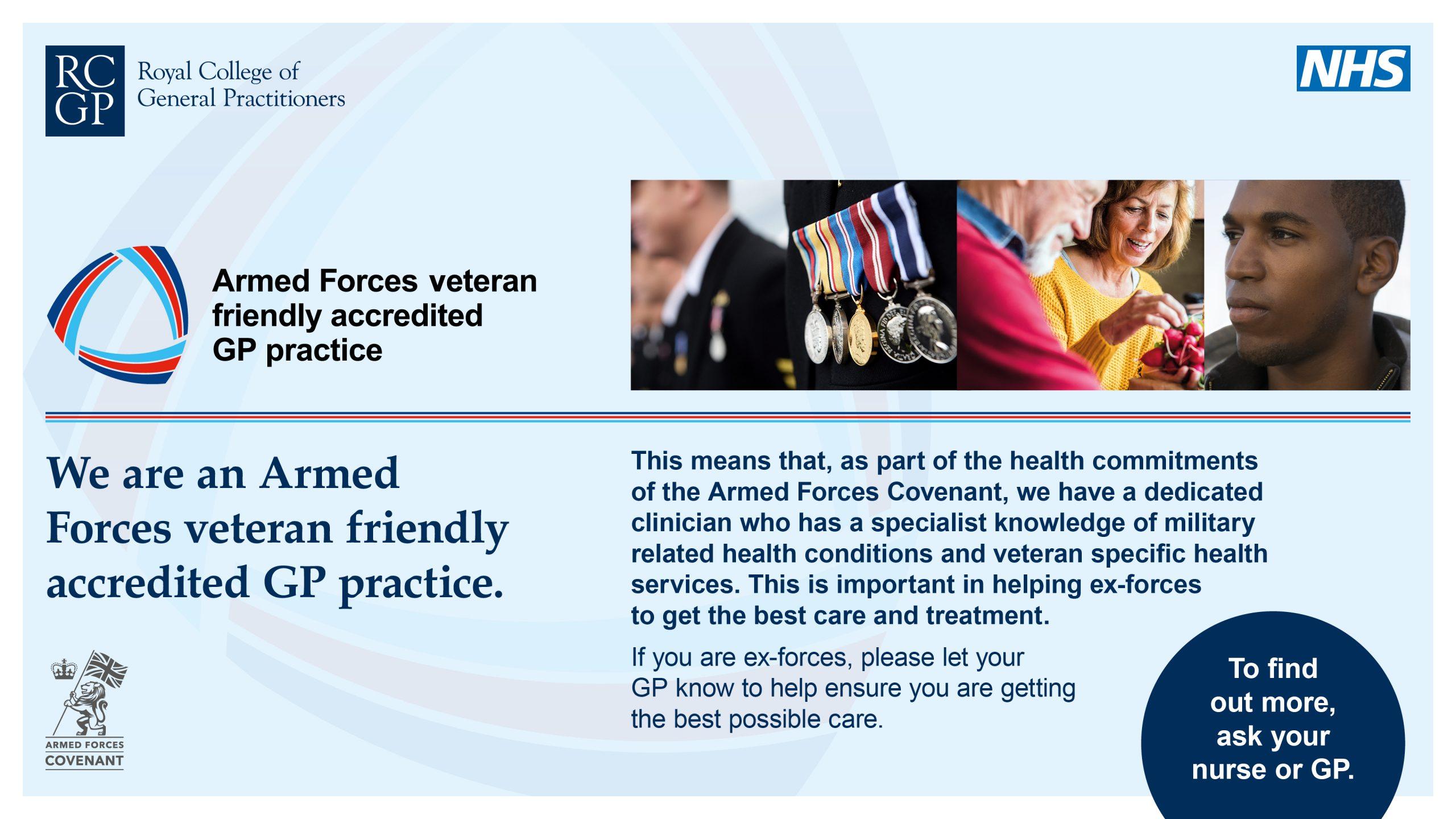 Veteran Friendly